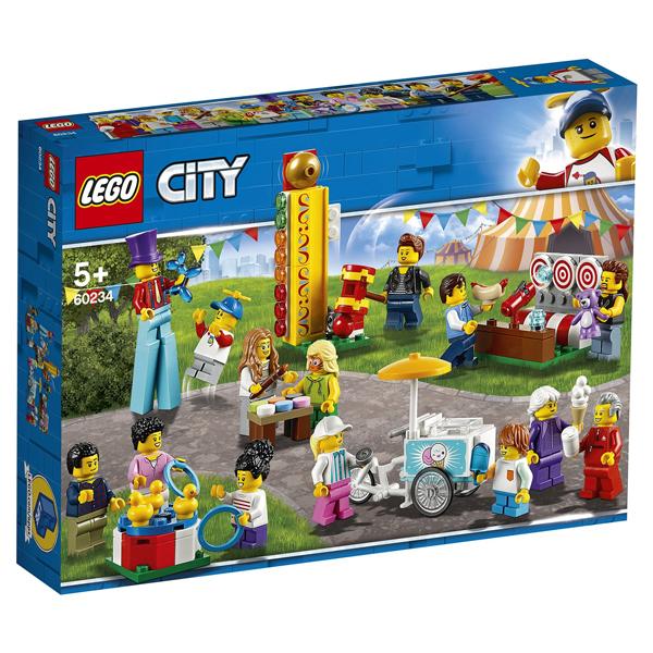 Конструктор Lego Комплект минифигурок «Весёлая ярмарка» City 60234