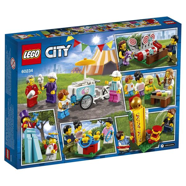 Конструктор Lego Комплект минифигурок «Исследования космоса» City 60230