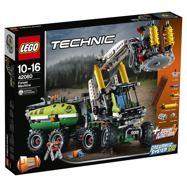 Конструктор Lego Лесозаготовительная машина Technic 42080