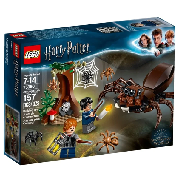 Конструктор Lego Логово Арагога Harry Potter 75950