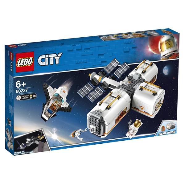 Конструктор Lego Лунная космическая станция City 60227