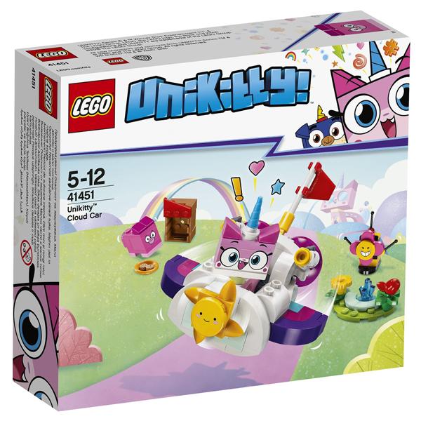 Конструктор Lego Машина-облако Юникитти Unikitty 41451