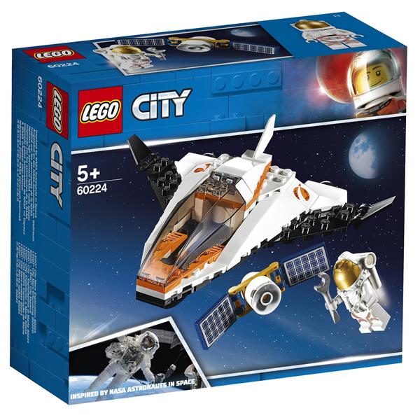 Конструктор Lego Миссия по ремонту спутника City 60224