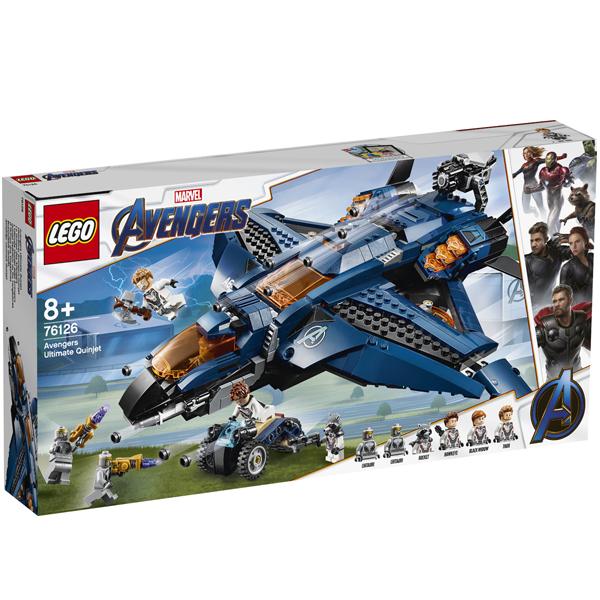 Конструктор Lego Модернизированный квинджет Мстителей Super Heroes 76126