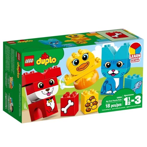 Конструктор Lego Мои первые домашние животные Duplo 10858