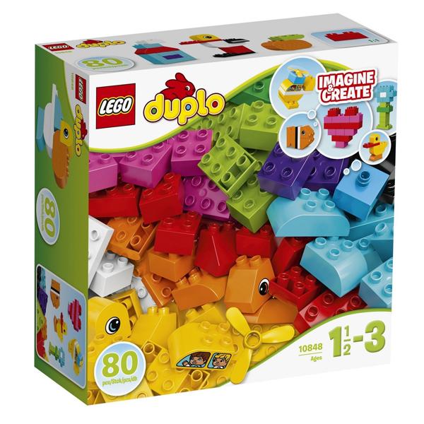 Конструктор Lego Мои первые кубики Duplo 10848