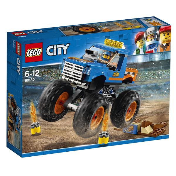 Конструктор Lego Монстр-трак City 60180