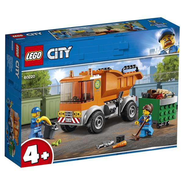 Конструктор Lego Мусоровоз City 60220