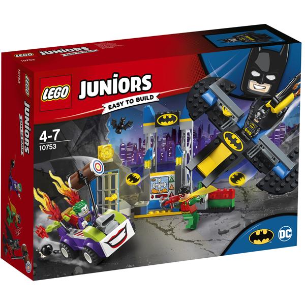 Конструктор Lego Нападение Джокера на Бэтпещеру Juniors 10753