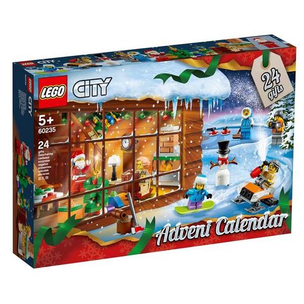 Конструктор Lego Новогодний календарь City 60235