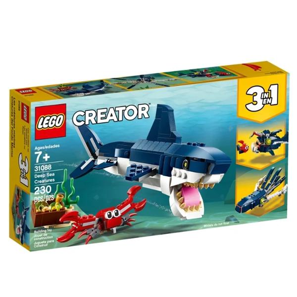 Конструктор Lego Обитатели морских глубин Creator 31088