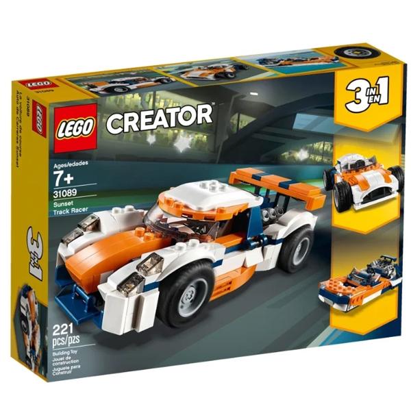 Конструктор Lego Оранжевый гоночный автомобиль Creator 31089