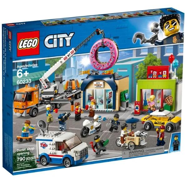Конструктор Lego Открытие магазина по продаже пончиков City 60233