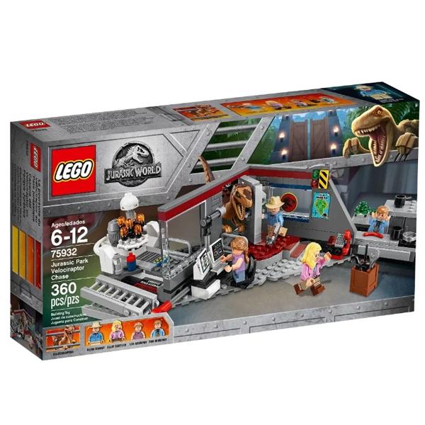 Конструктор Lego Охота на рапторов в Парке Юрского Периода Jurassic World 75932