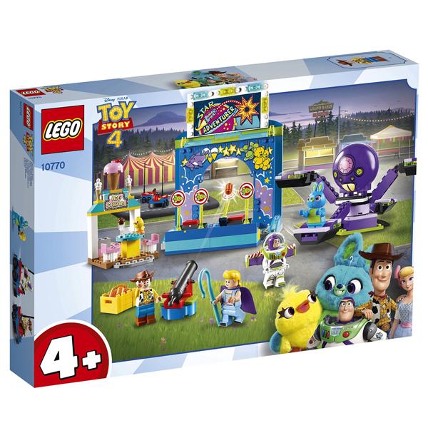 Конструктор LEGO Парк аттракционов Базза и Вуди Juniors 10770
