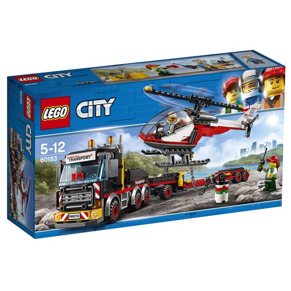 Конструктор Lego Перевозчик вертолета City 60183