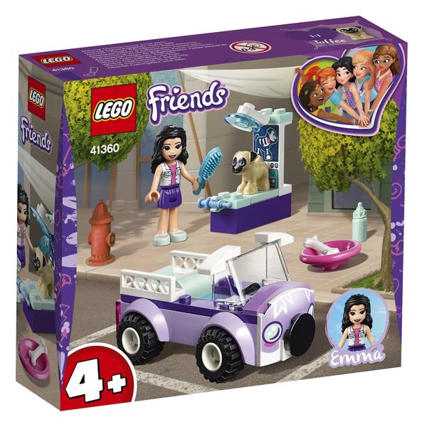 Конструктор Lego Передвижная ветклиника Эммы Friends 41360