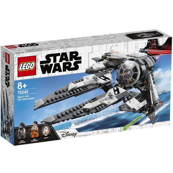 Конструктор Lego Перехватчик СИД Чёрного аса Star Wars 75242