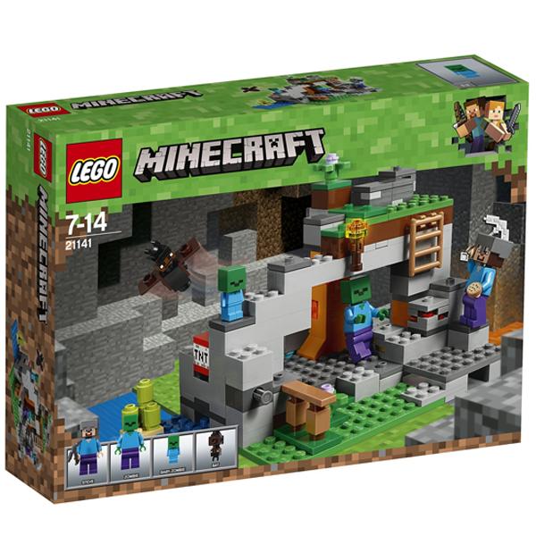 Конструктор Lego Пещера зомби Minecraft 21141