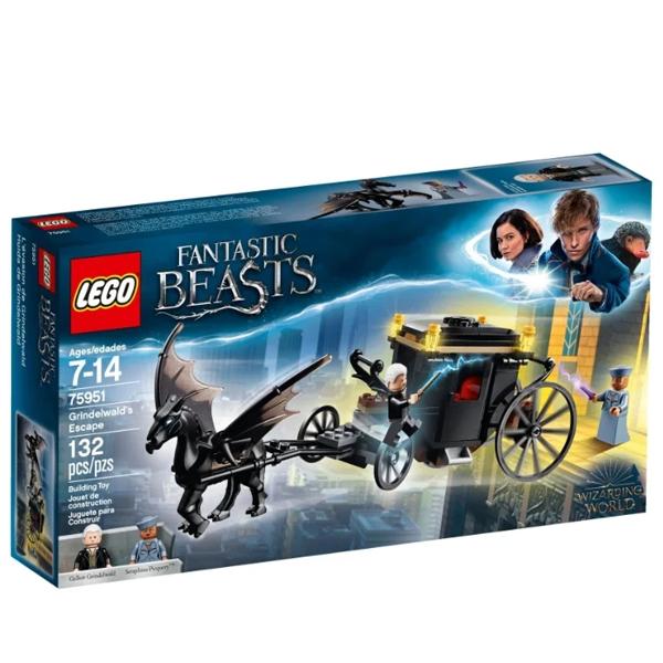 Конструктор Lego Побег Грин-де-Вальда Harry Potter 75951