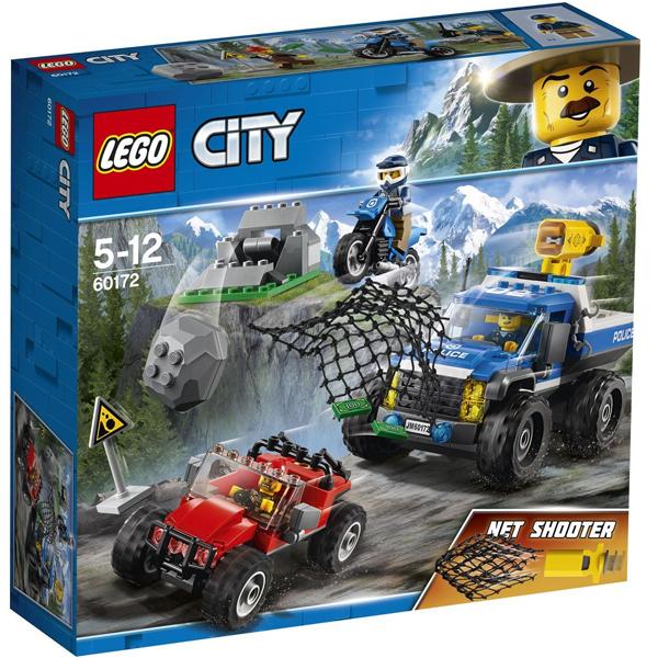 Конструктор Lego Погоня по грунтовой дороге City 60172