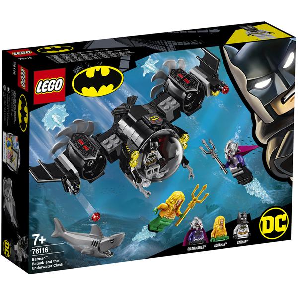 Конструктор Lego Подводный бой Бэтмена Super Heroes 76116