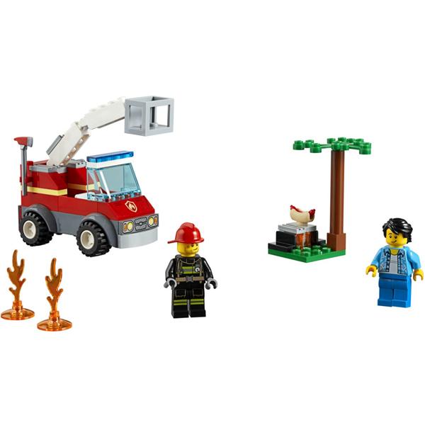Конструктор Lego Пожар на пикнике City 60212