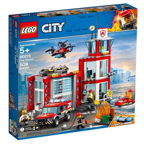 Конструктор Lego Пожарное депо City 60215