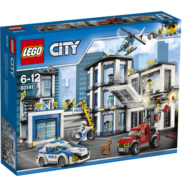 Конструктор Lego Полицейский участок City 60141
