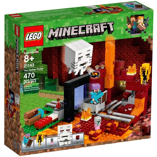 Конструктор Lego Портал в Подземелье Minecraft 21143