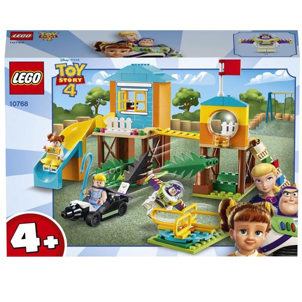 Конструктор Lego Приключения Базза и Бо Пип на детской площадке Juniors 10768