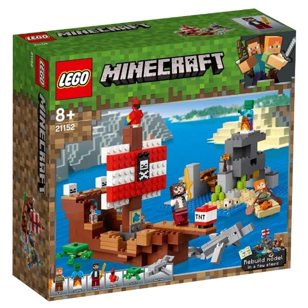 Конструктор Lego Приключения на пиратском корабле Minecraft 21152