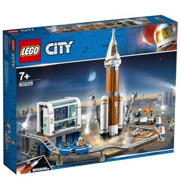 Конструктор Lego Ракета для запуска в далекий космос и пульт управления запуском City 60228