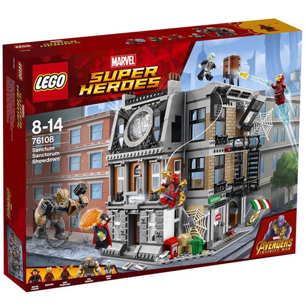 Конструктор Lego Решающий бой в Санктум Санкторум Super Heroes 76108