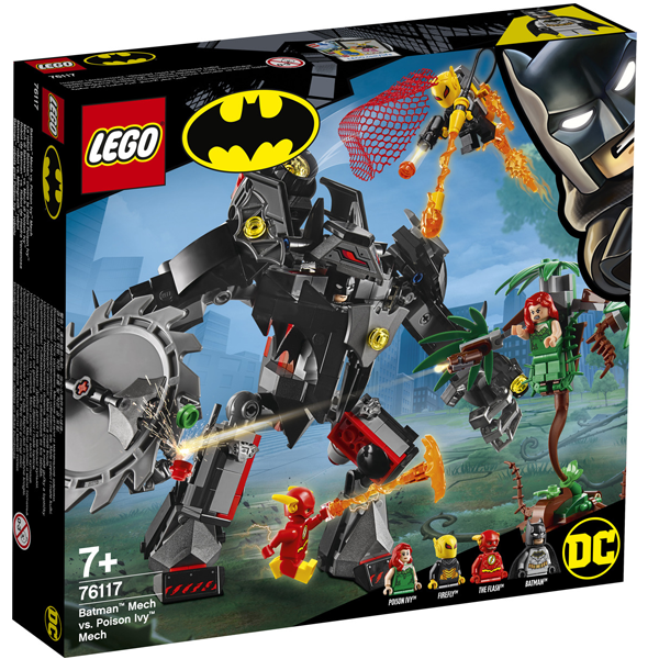 Конструктор Lego Робот Бэтмена против робота Ядовитого Плюща Super Heroes 76117