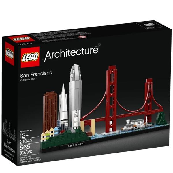 Конструктор Lego Сан-Франциско Architecture 21043