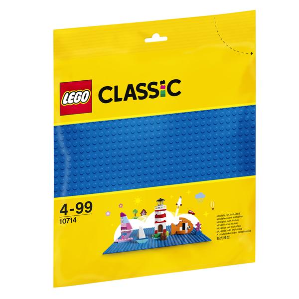 Конструктор Lego Синяя базовая пластина Classic 10714