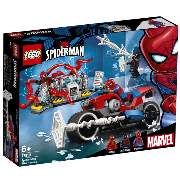 Конструктор Lego Спасательная операция на мотоциклах Super Heroes 76113