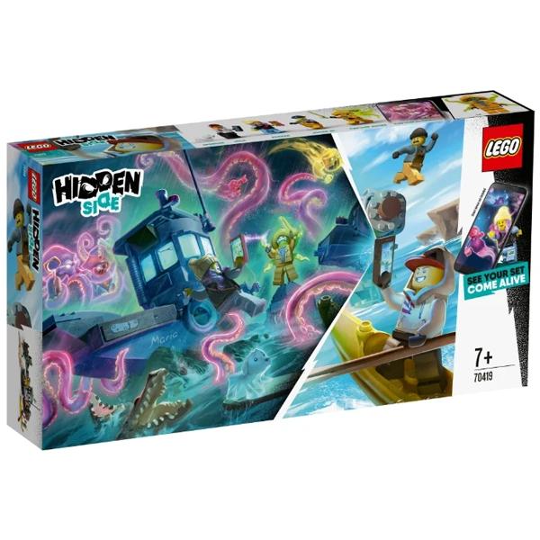 Конструктор Lego Старый рыбацкий корабль Hidden Side 70419