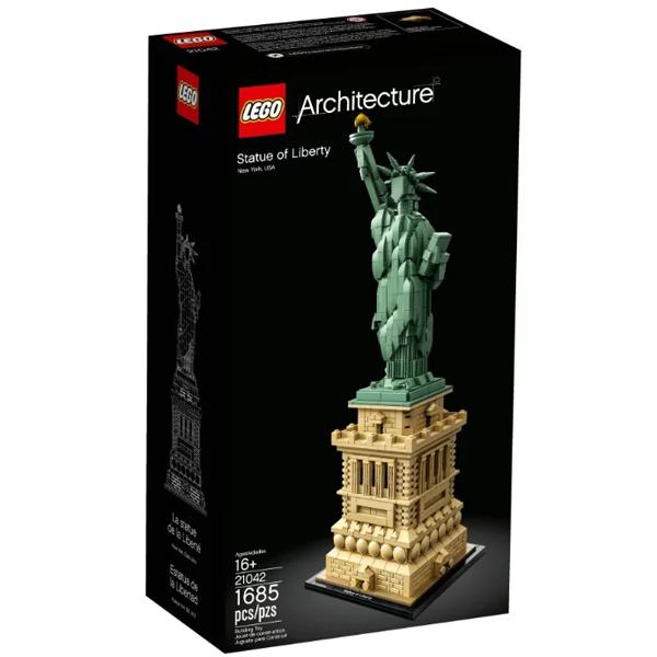 Конструктор Lego Статуя Свободы Architecture 21042