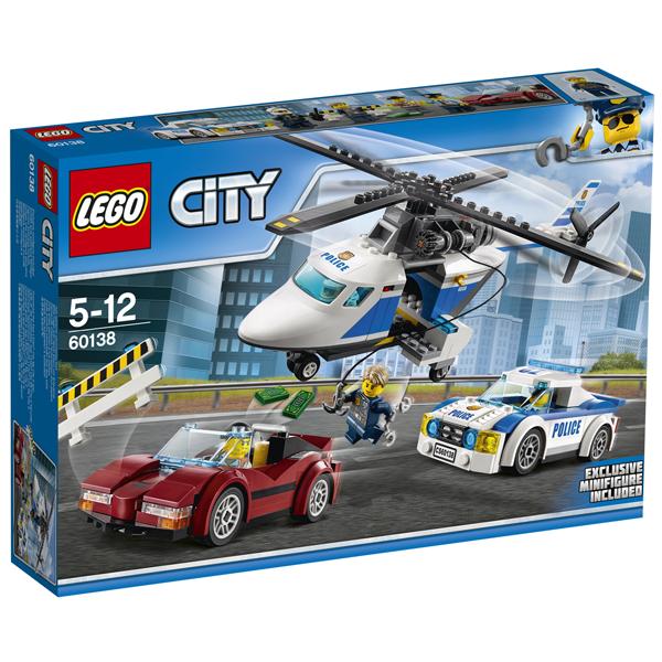 Конструктор Lego Стремительная погоня City 60138