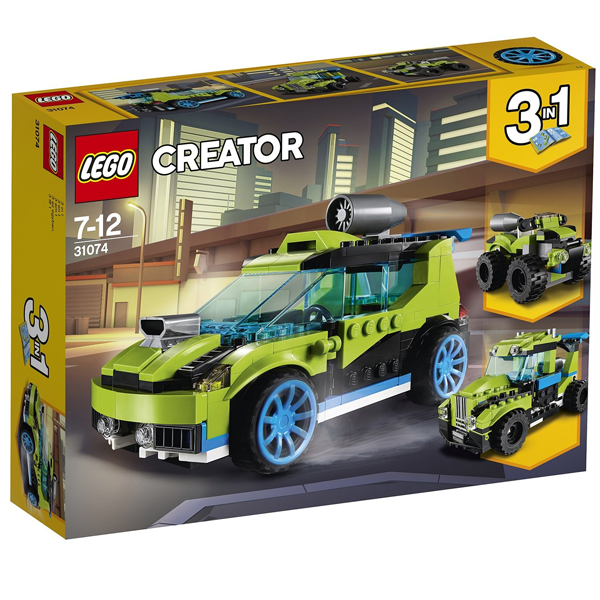 Конструктор Lego Суперскоростной раллийный автомобиль Creator 31074