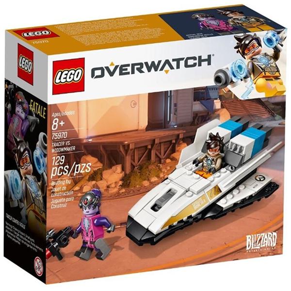 Конструктор Lego Трейсер против Видоумейкера Overwatch 75970