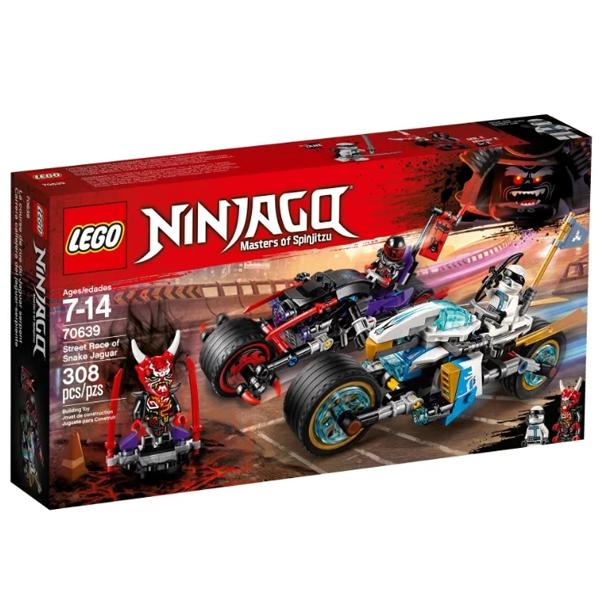 Конструктор Lego Уличная погоня Ninjago 70639