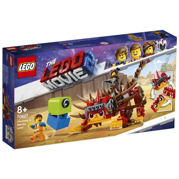 Конструктор Lego Ультра-Киса и воин Люси Movie 70827
