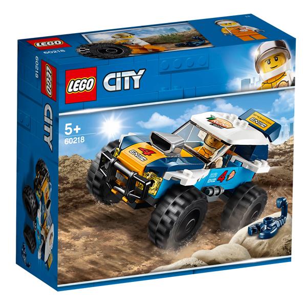 Конструктор Lego Участник гонки в пустыне City 60218