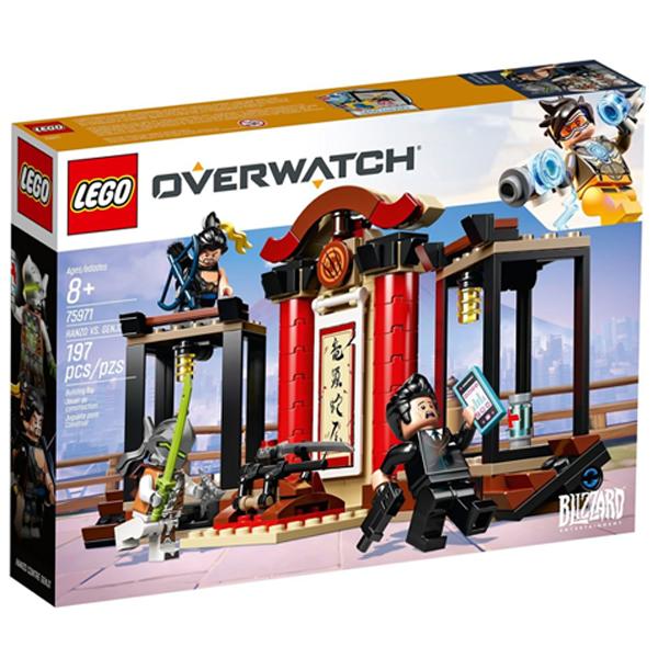 Конструктор Lego Хензо против Гэндзи Overwatch 75971