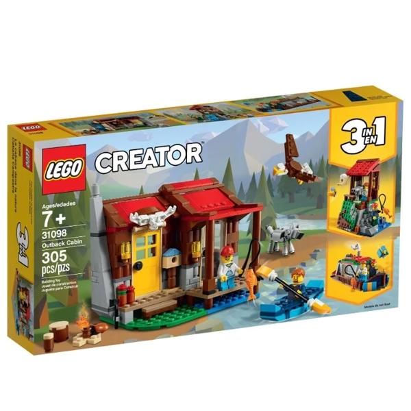 Конструктор Lego Хижина в глуши Creator 31098