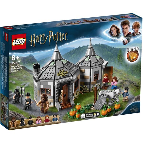 Конструктор Lego Хижина Хагрида: спасение Клювокрыла Harry Potter 75947