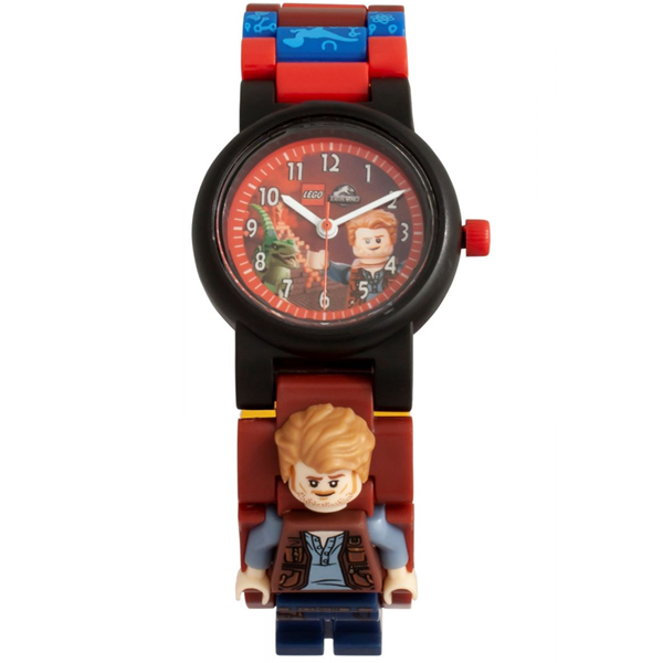 Конструктор Lego Часы наручные аналоговые Jurrasic World - Owen